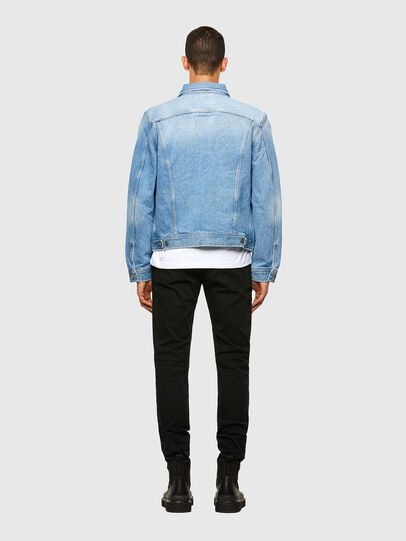 Diesel - D-BRAY, Light Blue - Denim Jackets - Image 3
