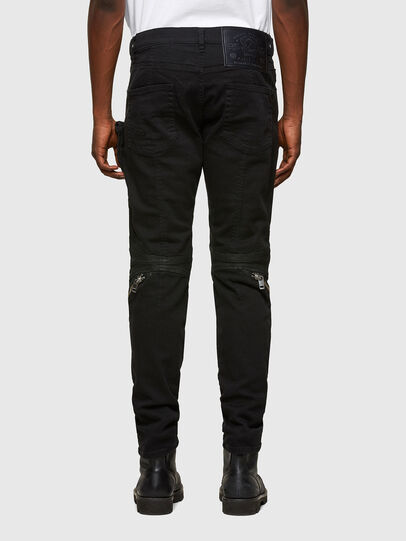 Diesel - D-Strukt Slim Jeans 069TH, Black/Dark Grey - Jeans - Image 2