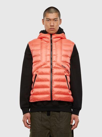 Diesel - W-DWAIN-SL, Pink - Winter Jackets - Image 1