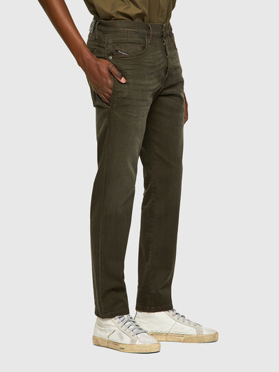 Diesel - D-Fining Tapered Chino 0699P, Military Green - Jeans - Image 4