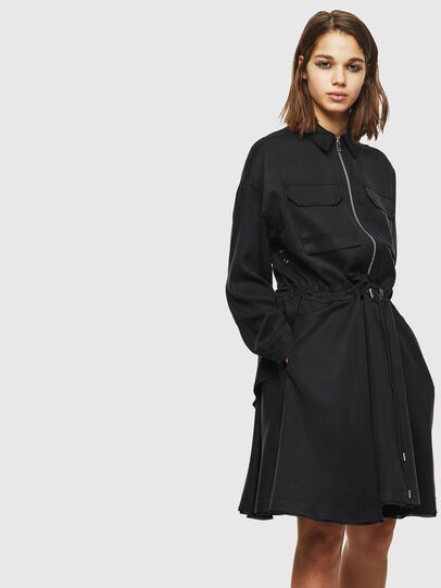 Diesel - D-RANIET, Black - Dresses - Image 1