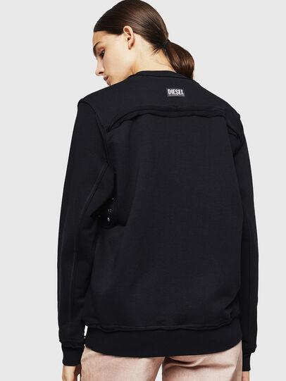 Diesel - F-LYANY-G, Black - Sweatshirts - Image 2