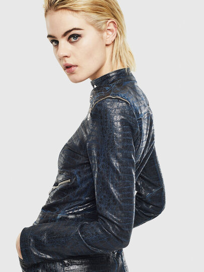 Diesel - D-MAYLA-SX-T, Dark Blue - Denim Jackets - Image 5