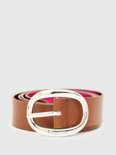 Diesel - B-ISIDE, Brown/Pink - Belts - Image 1
