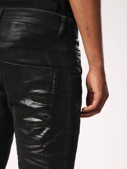 Diesel - Krooley JoggJeans 084JB, Black/Dark grey - Jeans - Image 6
