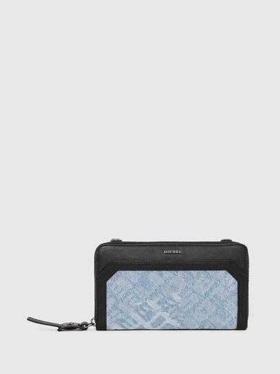 Diesel - GRANATO LCLS, Blue Jeans - Zip-Round Wallets - Image 1
