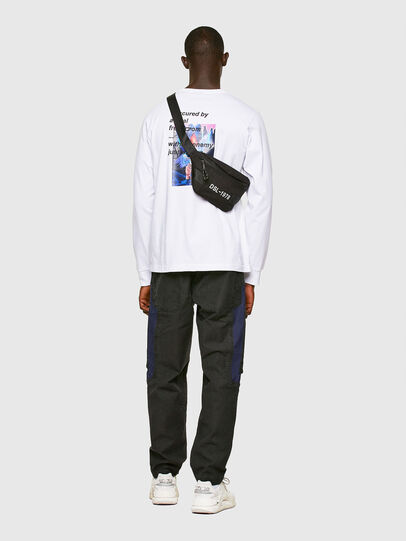 Diesel - T-JUST-LS-A30, White - T-Shirts - Image 5