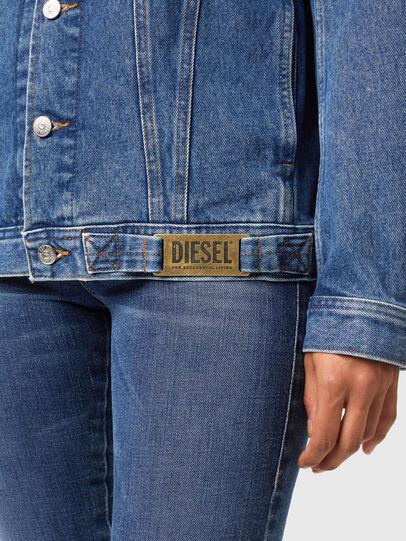 Diesel - NHILL-C1, Azul medio - Chaquetas de denim - Image 6