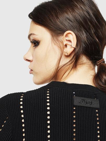 Diesel - M-LYV, Black - Sweaters - Image 5