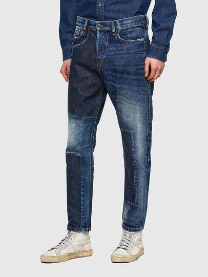 Diesel - D-Vider Carrot Jeans 009NJ, Medium Blue - Jeans - Image 5