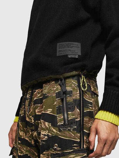 Diesel - K-PILOT, Black - Sweaters - Image 3