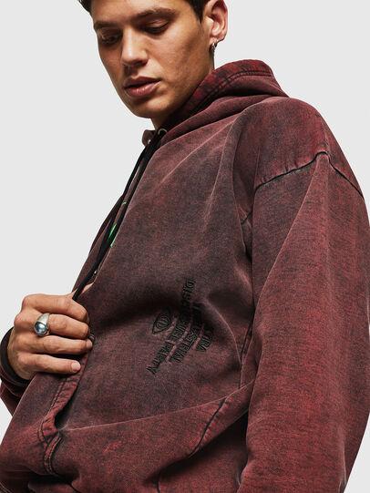 Diesel - S-ALBY-ACID, Bordeaux - Sweatshirts - Image 6