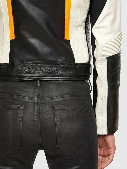 Diesel - ASTARS-LQUATTRO-B, Black - Leather jackets - Image 5