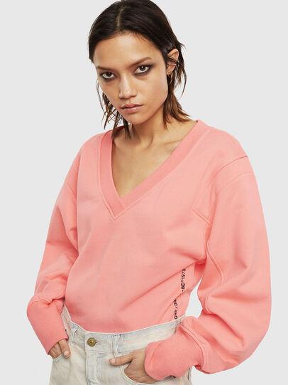 Diesel - F-AKIN, Pink - Sweatshirts - Image 4