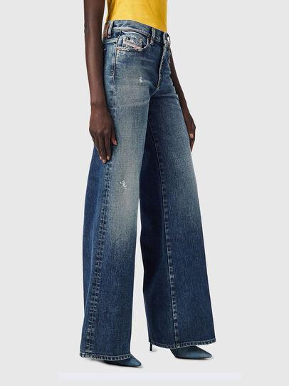 Diesel - D-Akemi Bootcut Jeans 09B17, Dark Blue - Jeans - Image 6
