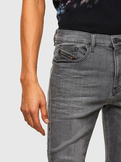 Diesel - D-Amny Skinny Jeans 009NZ, Black/Dark Grey - Jeans - Image 3