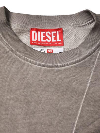 Diesel - ACW-SW01, Grey - Sweatshirts - Image 4