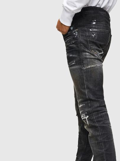 Diesel - Thommer JoggJeans 0098E, Black/Dark Grey - Jeans - Image 4