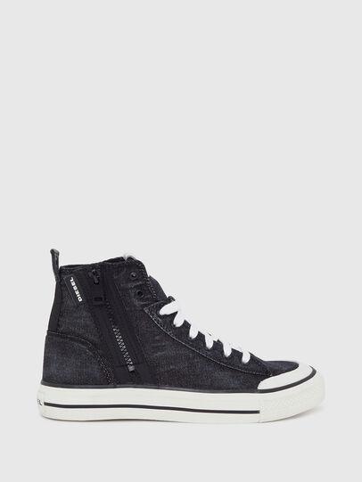 Diesel - S-ASTICO MID ZIP W, Black - Sneakers - Image 1