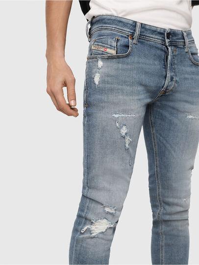 Diesel - Sleenker 086AT, Light Blue - Jeans - Image 3