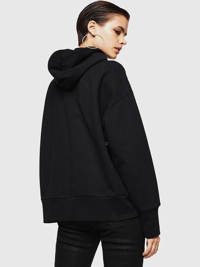 Diesel - F-MAG, Black - Sweatshirts - Image 2