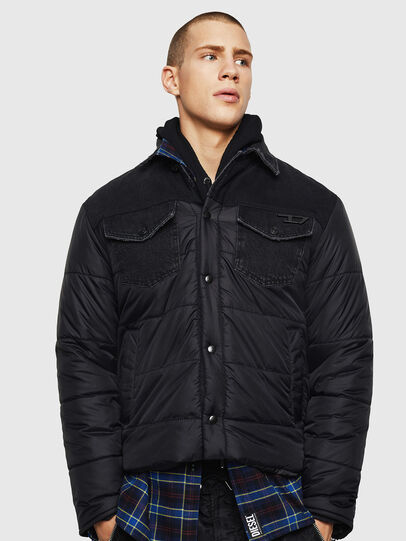 Diesel - D-SHYLA, Black - Winter Jackets - Image 1