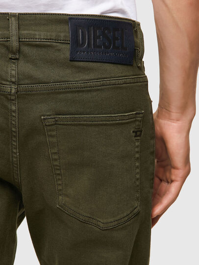 Diesel - D-Fining 09A32, Dark Green - Jeans - Image 3