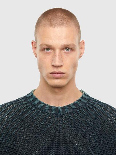 Diesel - K-LIAM, Dark Blue - Sweaters - Image 3