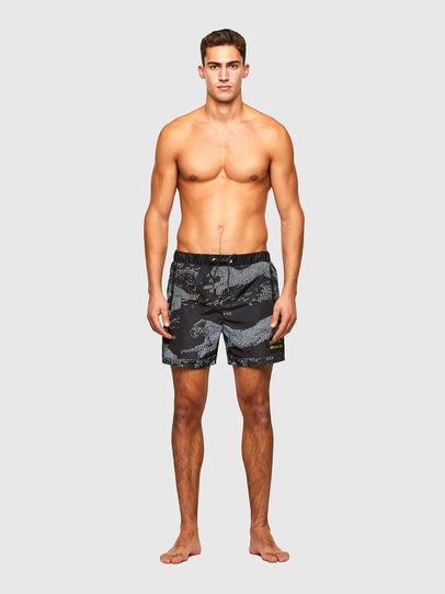 Diesel - BMBX-WAVE 2.017, Black - Swim shorts - Image 1