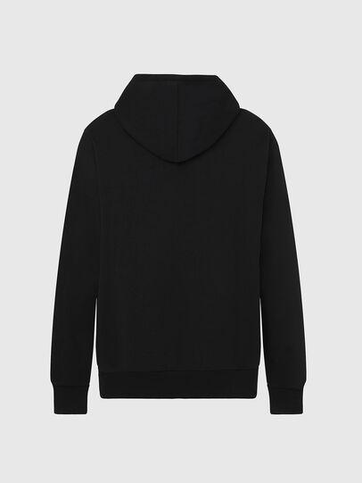 Diesel - S-GIR-HOOD-DIVISION-, Black - Sweatshirts - Image 2