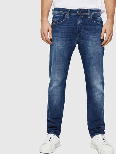 Diesel - Buster Tapered Jeans 084SZ, Medium Blue - Jeans - Image 1