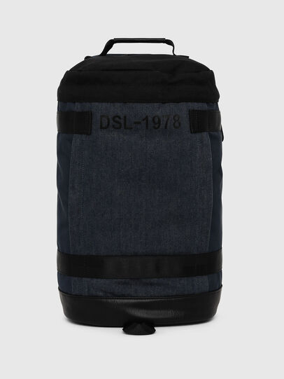 Diesel - PIEVE, Dark Blue - Backpacks - Image 1