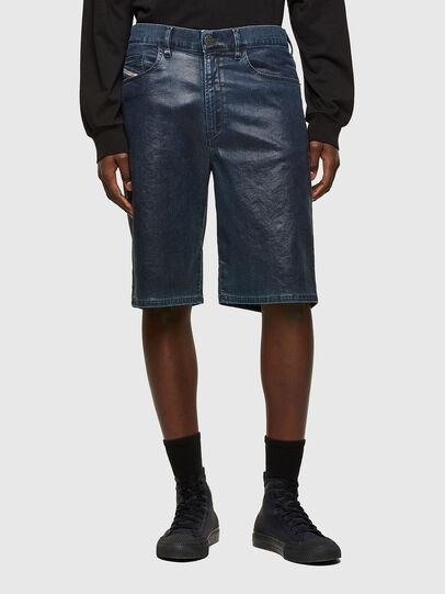 Diesel - D-MACS-SHORT-SP JOGGJEANS, Dark Blue - Shorts - Image 1