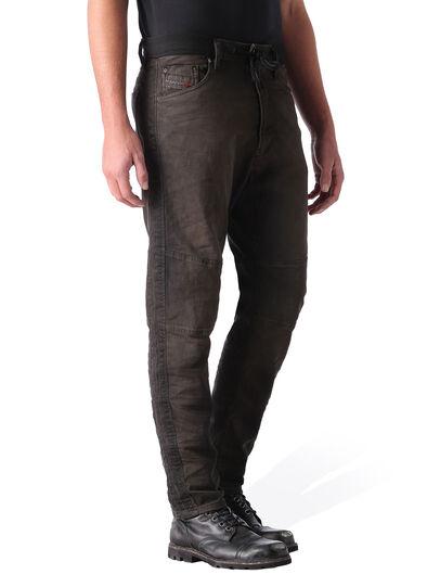 Diesel - Narrot JoggJeans 0848G, Black/Dark Grey - Jeans - Image 2