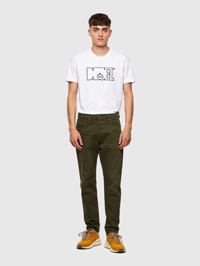 Diesel - D-Fining 09A32, Dark Green - Jeans - Image 5