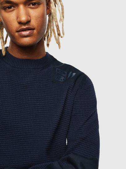 Diesel - K-LESTER, Dark Blue - Sweaters - Image 3