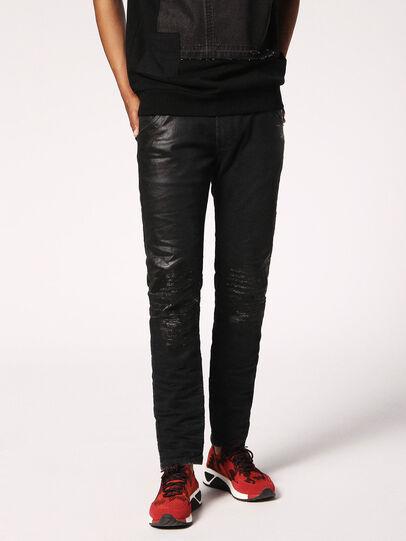 Diesel - Krooley JoggJeans 084JB, Black/Dark grey - Jeans - Image 4