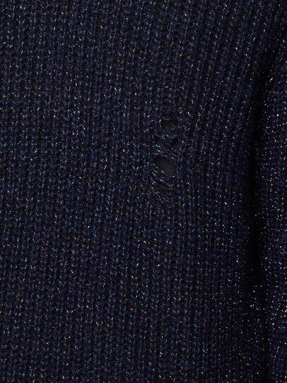 Diesel - K-CARBON, Dark Blue - Sweaters - Image 5