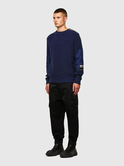Diesel - K-GILLING, Blue - Sweaters - Image 5