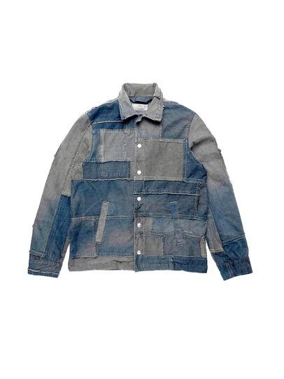 Diesel - D-COACINQUE5, Blue Jeans - Denim Jackets - Image 1