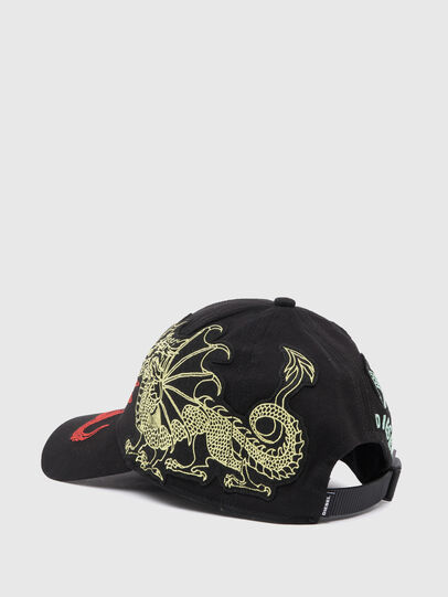 Diesel - C-DRAGON, Black - Caps - Image 2