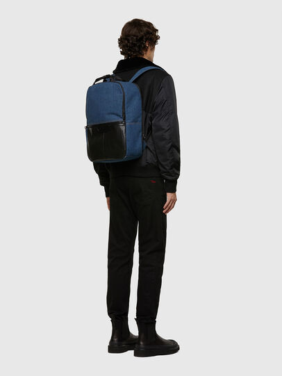 Diesel - GINKGO FP, Blue Jeans - Backpacks - Image 7