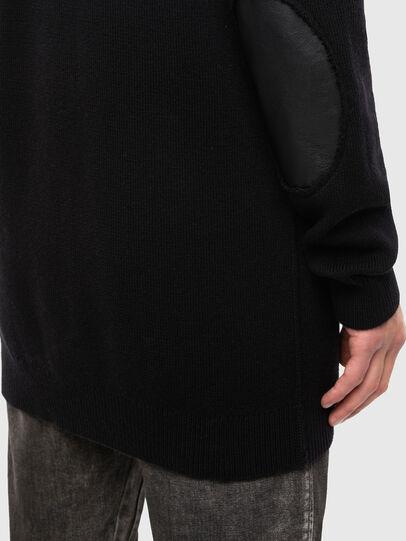 Diesel - K-ALEX, Black - Sweaters - Image 4