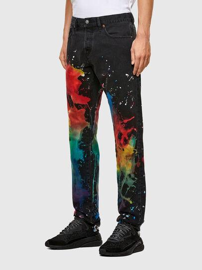 Diesel - D-Kras Slim Jeans 009QV, Black/Dark Grey - Jeans - Image 5