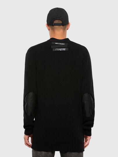Diesel - K-ALEX, Black - Sweaters - Image 2