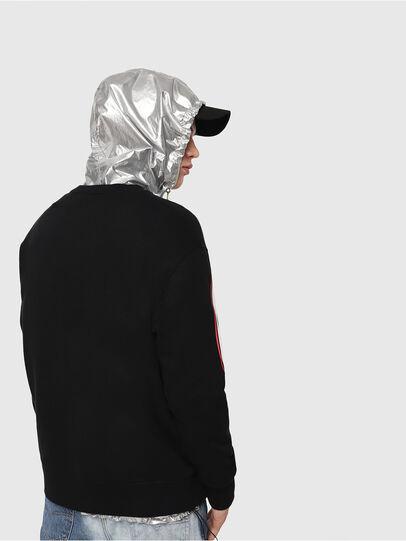Diesel - S-BAY-RADIO-PRINT, Black - Sweatshirts - Image 2