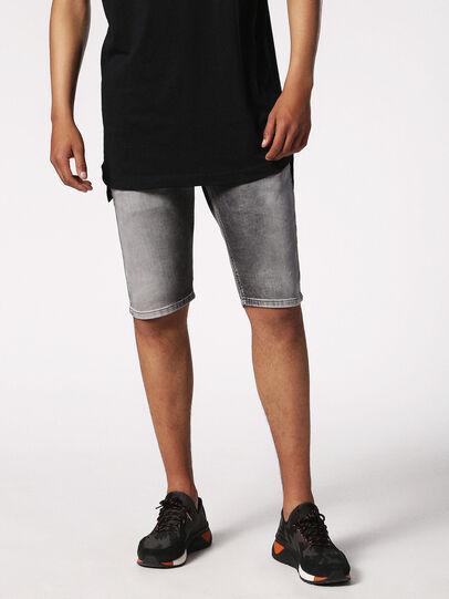 Diesel - KROSHORT JOGGJEANS, Light Grey - Shorts - Image 4
