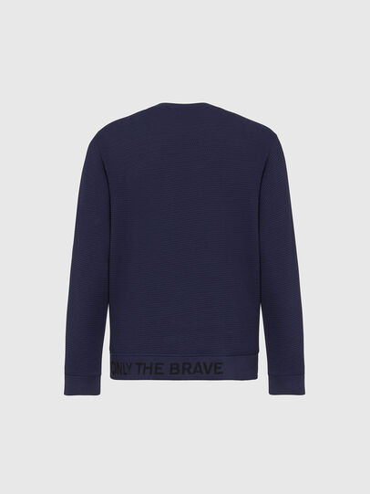 Diesel - S-PEWTER, Dark Blue - Sweatshirts - Image 2