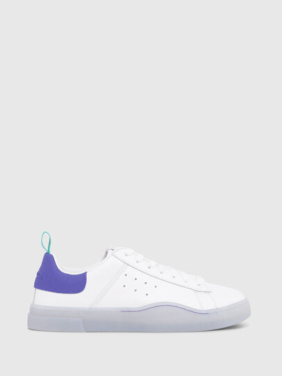 Diesel - S-CLEVER LOW W, Bright White - Sneakers - Image 1