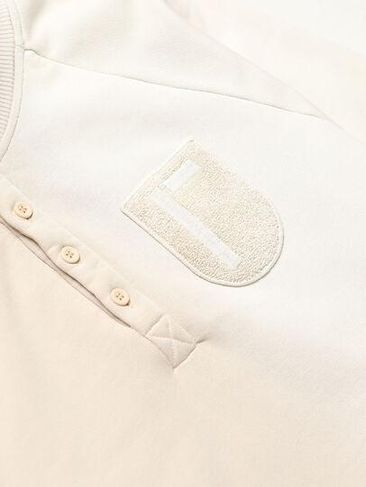 Diesel - GR02-T302, White - Sweatshirts - Image 4